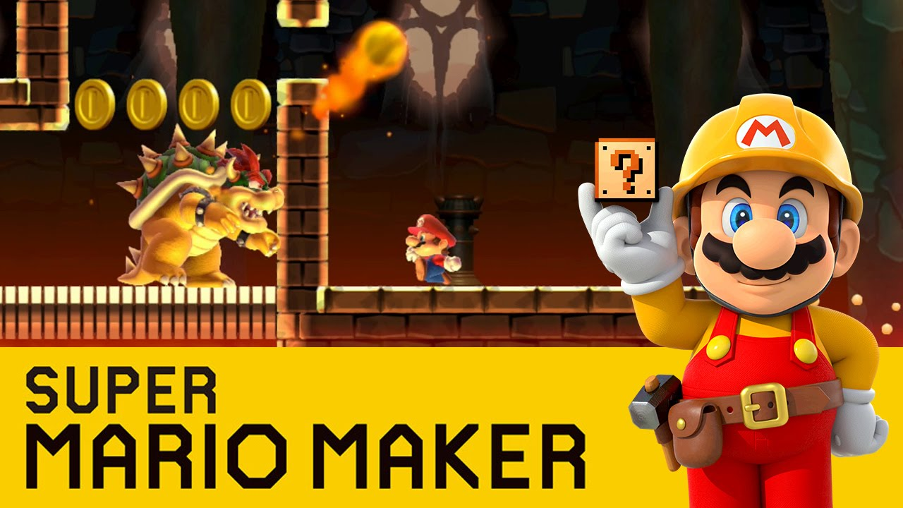 Stampy And Sqaishey Mario Maker : Super Mario Maker - Bowser Boozled - YouTube