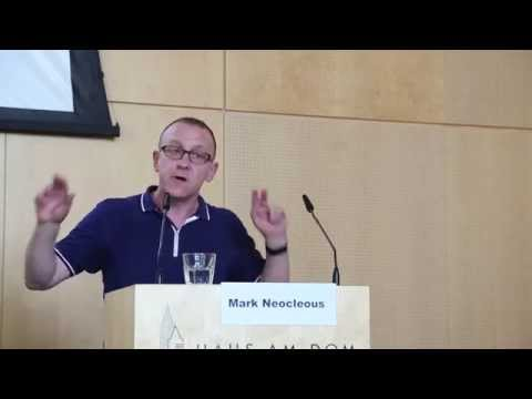 Resisting Resilience (Mark Neocleous)