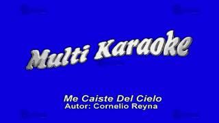 MULTIKARAOKE - Me Caíste Del Cielo