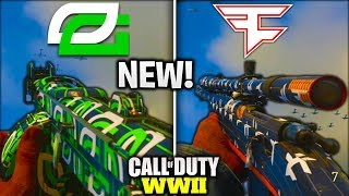 *NEW* CWL PACKS ADDED TO COD WW2👀- NEW OPTIC GAMING AND FAZE CLAN CAMOS in COD WW2 [NEW UPDATE WW2]