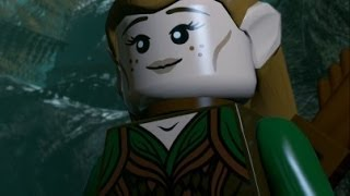 LEGO The Hobbit (PS4) 100% Guide - Chapter 10 - Flies and Spiders (All Minikits)