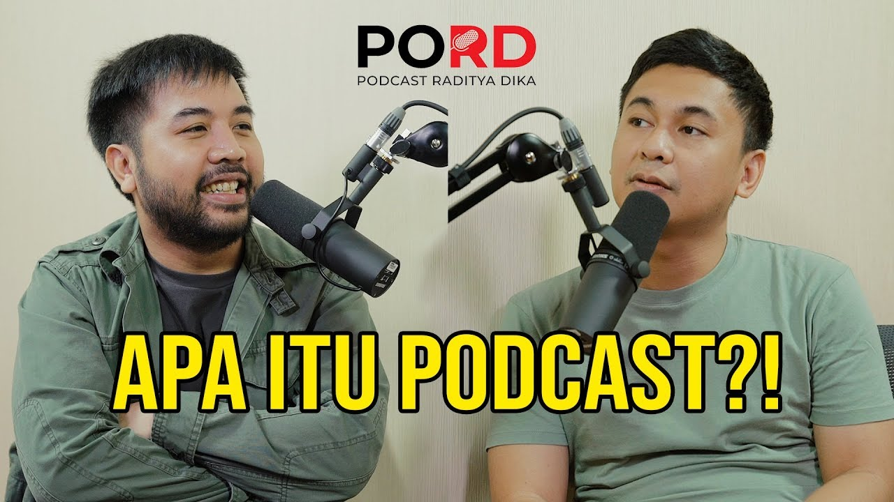 Image result for podcast raditya dika