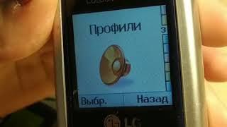 LG G1600 Обзор телефона! Будет Круто и Интересно.