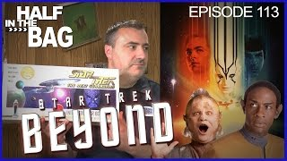Half in the Bag Episode 113: Star Trek Beyond(Mike and Jay see the new Star Trek film, Star Trek Beyond. Then Mike talks at Jay about all things Star Trek., 2016-07-28T17:00:58.000Z)