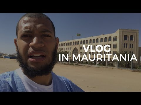 Vlog in Mauritania - How to catch a taxi, getting a visa, is