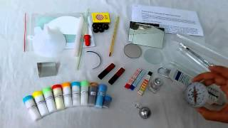 Do and Discover Science Kit Box Contents