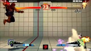NCR 2013 SSF4:AE Grand Finals - Infiltration (AK) vs DM|MCZ Xian (GE)