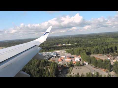 Landing At Helsinki With Finnair From Zurich
