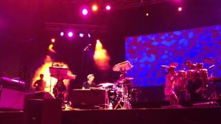 Erykah Badu - Push Up The Fader live @ Nice Jazz festival 2012