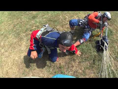 Прыжок с парашютом . Краснодар