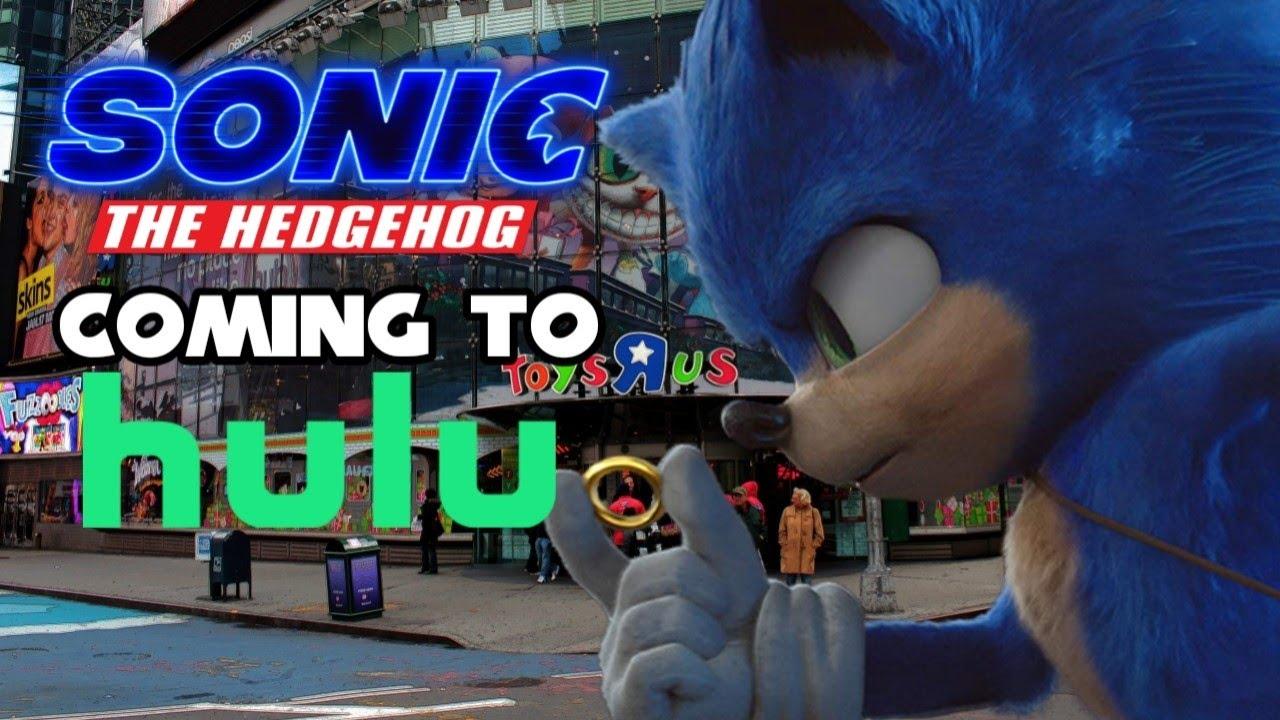 Sonic Movie Coming to Hulu