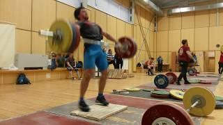 Тренировка сильнейших тяжелоатлетов в сборной РФ