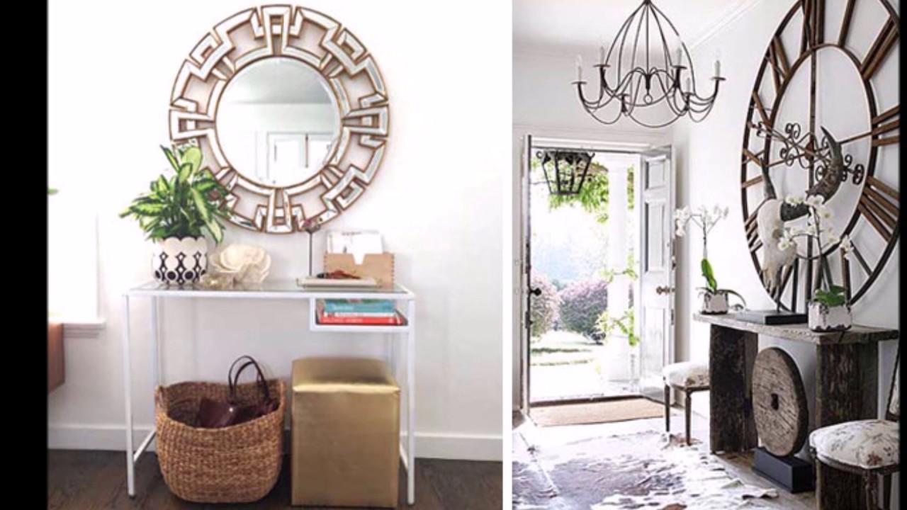 Ideas para decorar la entrada de la casa  Como decorar