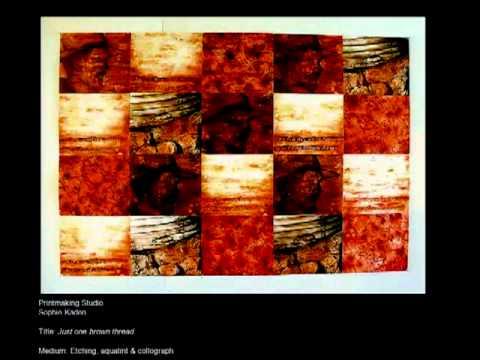 Visual Arts - Open Day 2011 - University of South Australia