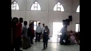 Vocal exercises - Nikita Paul, Music Department, India, YFC, at C.S.I. Redeemer church