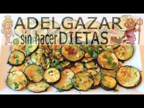 Berenjenas A La Plancha Adelgazar Sin Hacer Dietas Recetas De