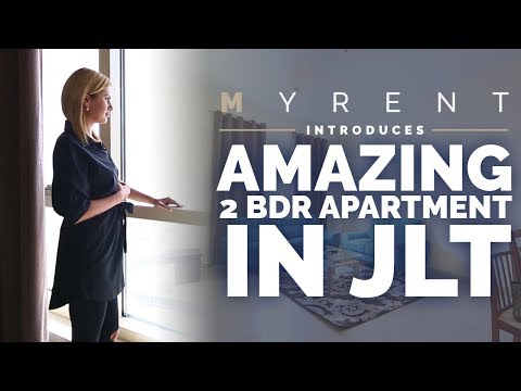 Amazing 2 BDR Apartment In JLT (Jumeirah Lake Towers), Icon Tower, Dubai / MyRent.ae Review
