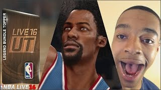 WE PULLED THE BEST DUNKER ON NBA LIVE 16! RATINGS ARE HIGHER THEN NBA 2K16!