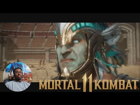 Mortal Kombat 11: Story Trailer REACTION/BREAKDOWN! NEW CHARACTERS!! thumbnail