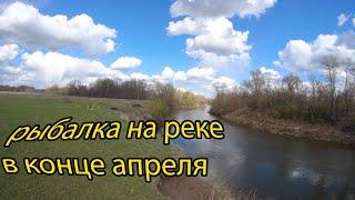 Рыбалка в конце апреля поплавок и фидер Ловля рыбы на реке
