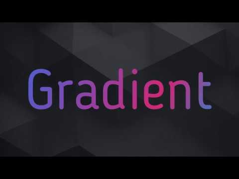 Online cratete Gradient text effect animated