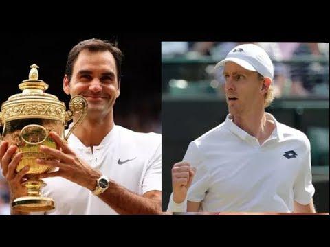 Roger Federer DESTROYED At Wimbledon 2018 By Kevin Anderson Highlights