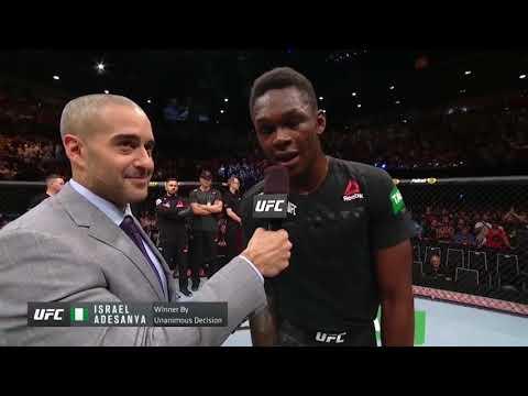 UFC 234: Исраэль Адесанья и Андерсон Силва - слова после боя