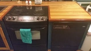 How to Paint Oven Stove Range - My oven make over - UPDATE