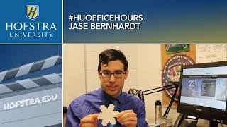 The Science Behind Snowflakes: HU Office Hours with Jase Bernhardt