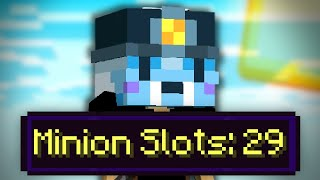 How to get minion slots FAST in Hypixel SkyBlock (complete guide)