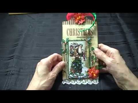 Decorated Christmas Extra Large Fernli Design tags 2015