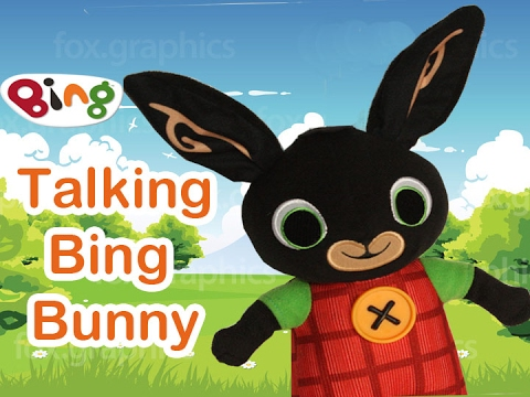 Talking Bing Soft Toy 30cm suitable from birth New*