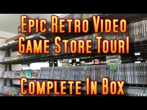 Epic Retro Video Game Store Tour 2017 | COMPLETE IN BOX Ephrata, PA | Thousands of GAMES!!!