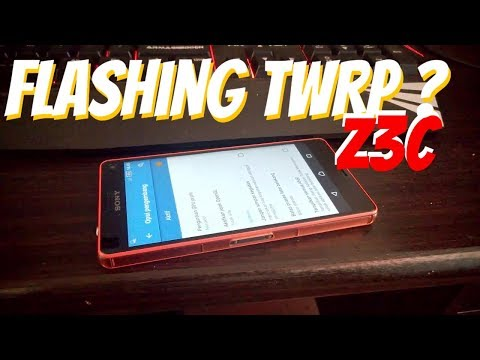 Flashing TWRP di Z3 Compact Lock Bootloader