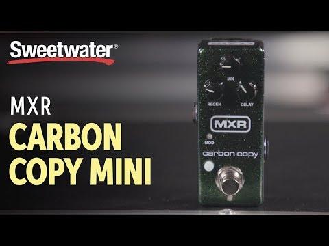 MXR Carbon Copy Mini Delay Pedal Demo with Bryan Kehoe