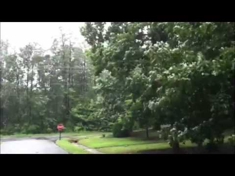 WY Daily: Footage during Hurricane Irene