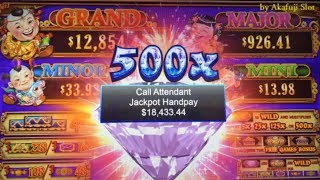 Unbelievable JACKPOT $18,433 - Bigger than the Grand Jackpot😍New 88 Fortunes DIAMOND - 3 Reel Slot
