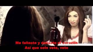 Repeat youtube video STEPHANIE FOX - SOLO VETE / VIDEO LETRA