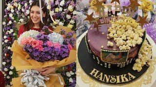 Actress Hansika 27th Birthday Celebrations With Family Photos