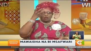 Bi Msafwari: Mume na mke wanapozozana, nani anafaa kuwa chini?