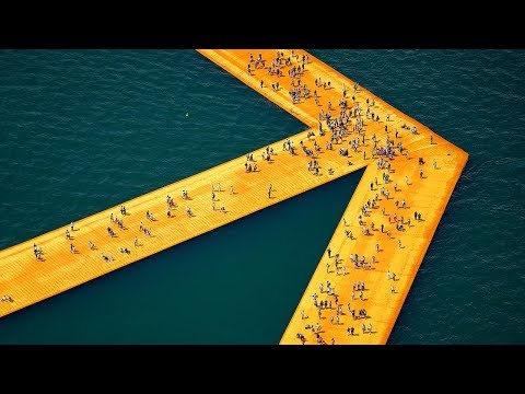 Christo: The Floating Piers and Work in Progress