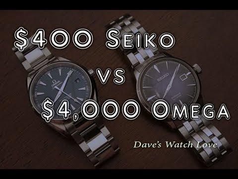 $400 Seiko vs $4,000 Omega