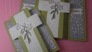 Easter 2017 card 8 - Triple Panel Card