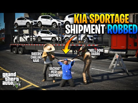 JIMMY'S KIA SPORTAGE CAR SHIPMENT ROBBED | GABRU DABRU ARE BACK? | GTA 5 MODS PAKISTAN