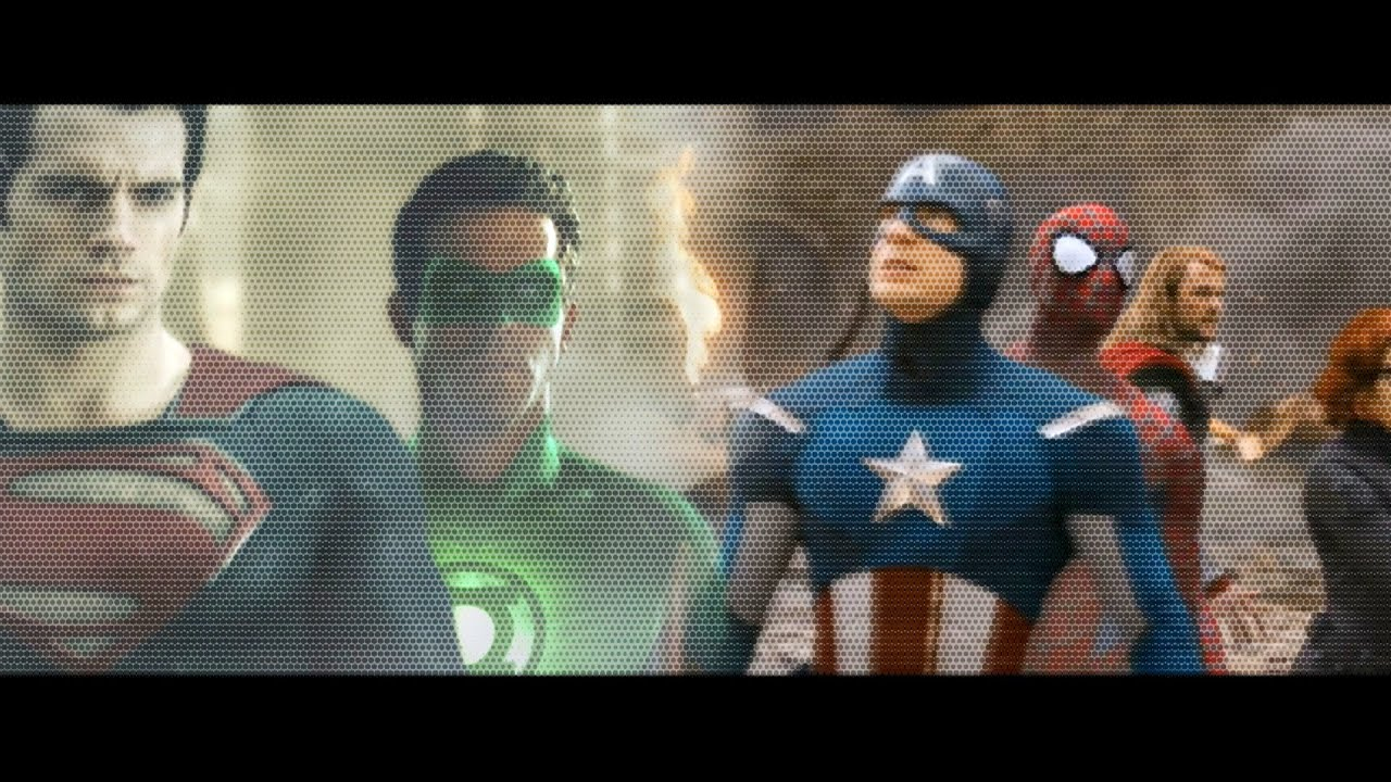 avengers v justice league trailer fan made youtube