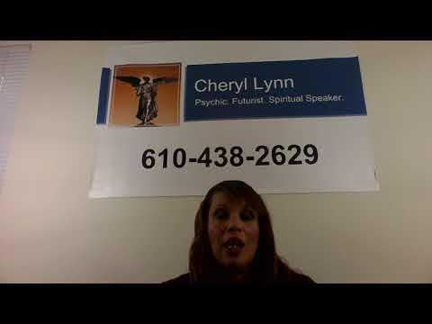 PSYCHIC CHERYL LYNN'S SPECIAL MESSAGE