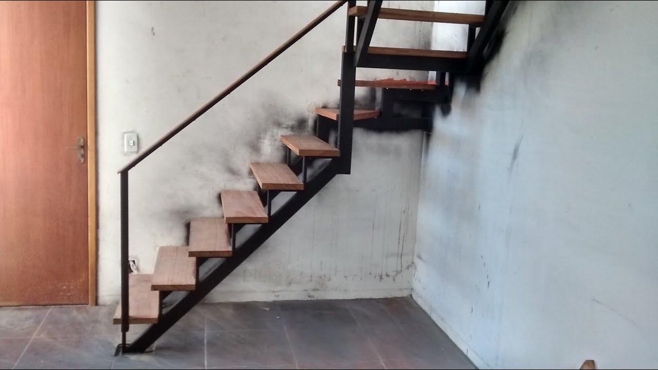 Trocando escada caracol apto da TENDA - YouTube