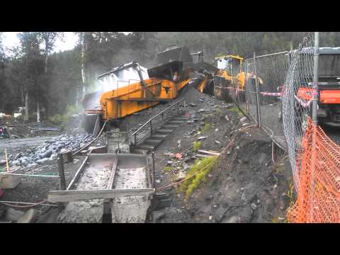 Porcupine Creek Mining Video