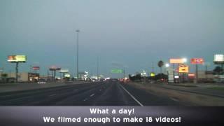 Corpus Christi Texas Highways at Dusk