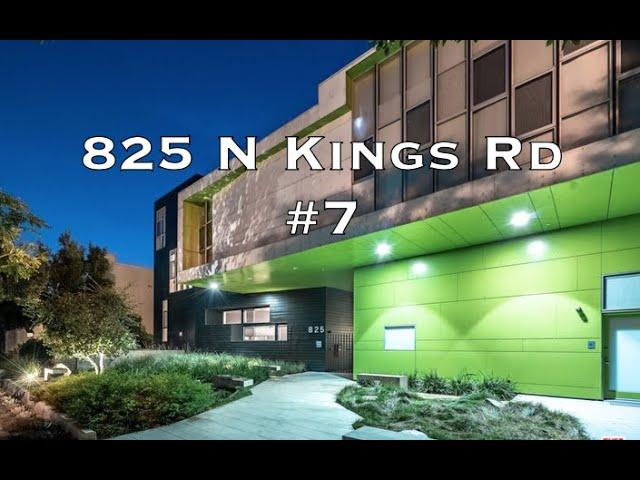 825 N Kings Rd #7, West Hollywood CA 90069